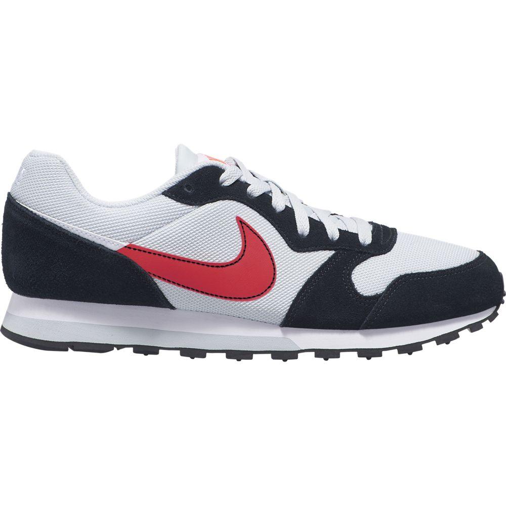 Zapatillas Nike MD Runner 2 ES1 Blanco y Negro | Netshoes